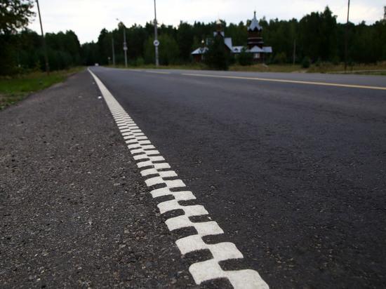 Экспериментальную структурную разметку нанесли на участке Московского шоссе