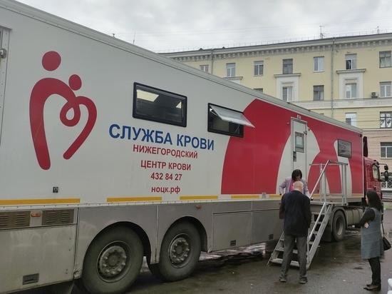 Сормовичи в рамках донорской акции сдали 14 литров крови
