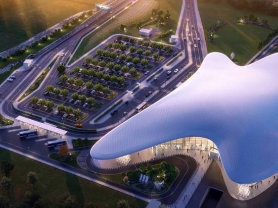 Около нового терминала аэропорта в Геленджике оборудуют ландшафтный парк