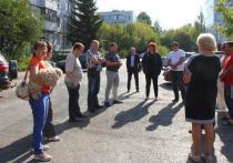 Комиссия приняла отремонтированные дворы в Московском районе Рязани