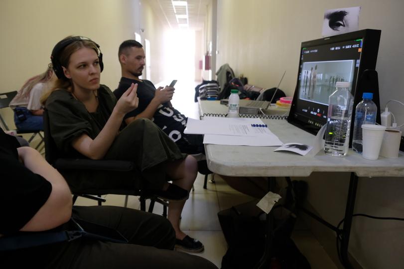 Найк Борзов снимается у ученицы Сергея Соловьева