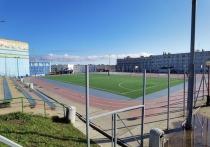 В Анадыре проводят ремонт школьного стадиона
