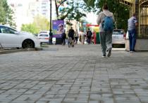В работе находятся наиболее востребованные пешеходные связи, покрытие которых пришло в негодность