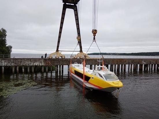 Третий «Валдай 45Р» для Чувашии спустили на воду в Нижегородской области