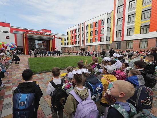 Губернаторский Светленский лицей на 1 100 учащихся открыли в Томске