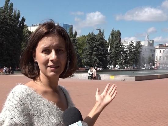 В Курске на площади перед государственным цирком реконструируют фонтан
