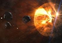 Сообщается, что несмотря на внушительные размеры, столкновение астероидов с Землей маловероятно.