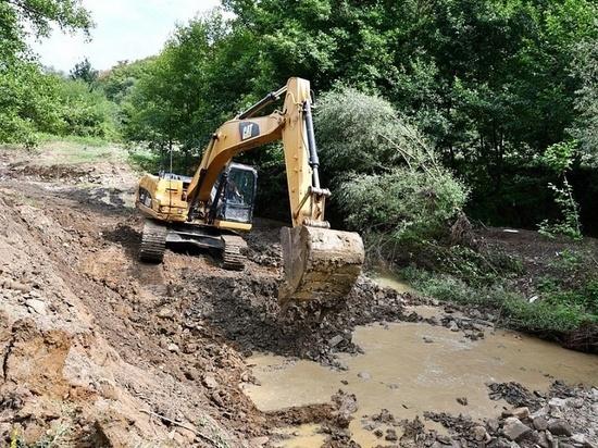 Для предотвращения подтоплений на Кубани разрабатывают проекты расчистки русел шести рек