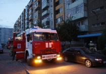 В Саяногорске пожарные спасли из горящей квартиры 51-летнего мужчину