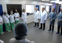 Игорь Руденя высоко оценил реализацию в Редкино инвестиционного проекта в фармацевтической промышленности