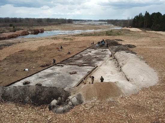 В Навашинском районе завершены раскопки на месте будущей автодороги М-12