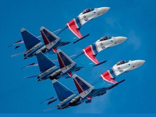 Пилотажная группа «Русские витязи» выступит в Югре