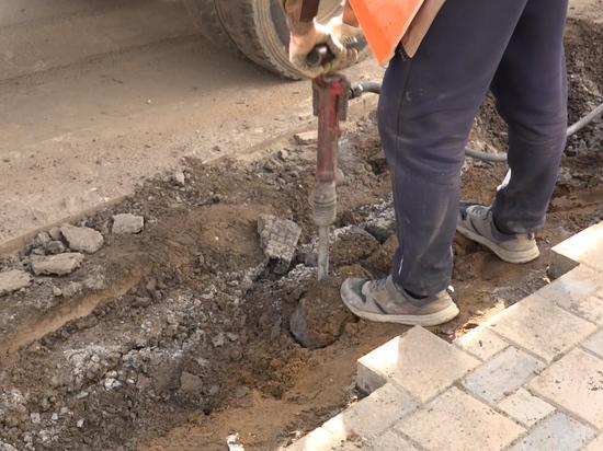 Съезды с тротуаров в Южно-Сахалинске делают удобными для горожан