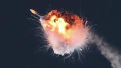 Космическая ракета Firefly взорвалась после старта: кадры фиаско