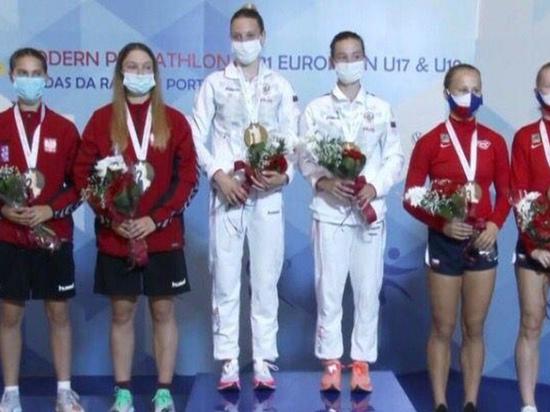 Нижегородка завоевала «золото» в эстафете по троеборью на первенстве Европы