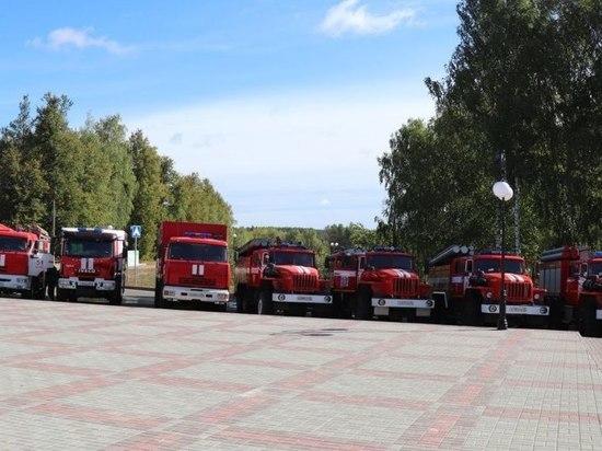 Спасатели из  ЦФО отправились из  Первомайска по местам постоянной дислокации