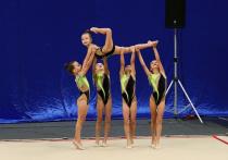 На Кубани стартовали соревнования на кубок губернатора по художественной гимнастике