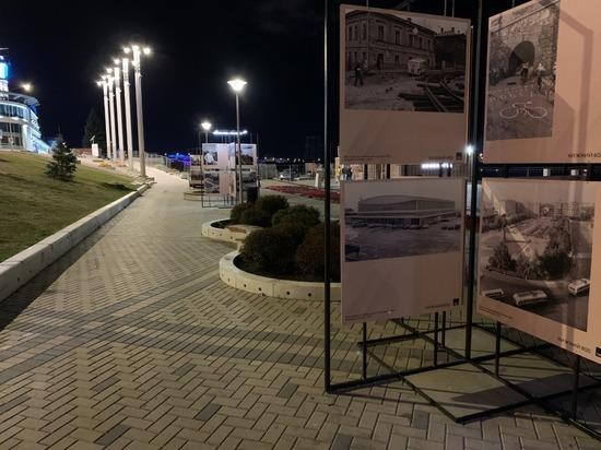 На Нижневолжской набережной открылась выставка «Путешествие из Нижнего  в Горький»