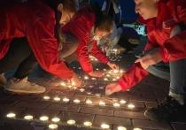 Псковские волонтёры провели акцию «Голубь мира» в память о жертвах Беслана