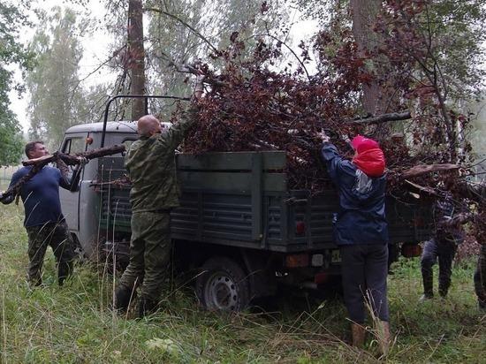 Сотрудники производства медицинской продукции помогли Приокско-Террасному заповеднику