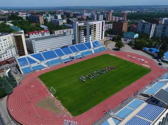 Реконструкция Северной трибуны стадиона «Трудовые резервы» в Курске близится к концу
