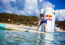 Калужанка забрала награду чемпионата России по SUP-серфингу
