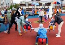 Огромная игровая площадка для детей открылась в Салехарде