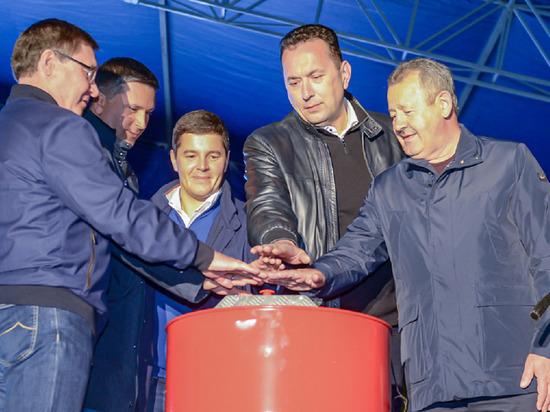 Дмитрий Артюхов дал старт движению по новой развязке в Новом Уренгое