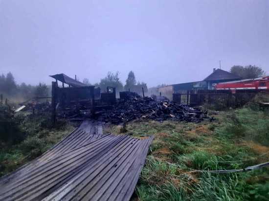 Подозреваемую в поджоге по задержали под Томском по горячим следам