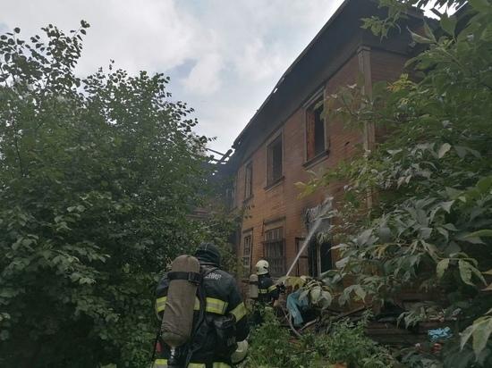 Сегодня там горели два дома