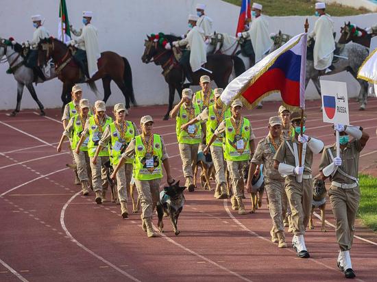 Алжир впервые принял на своей территории Армейские международные игры