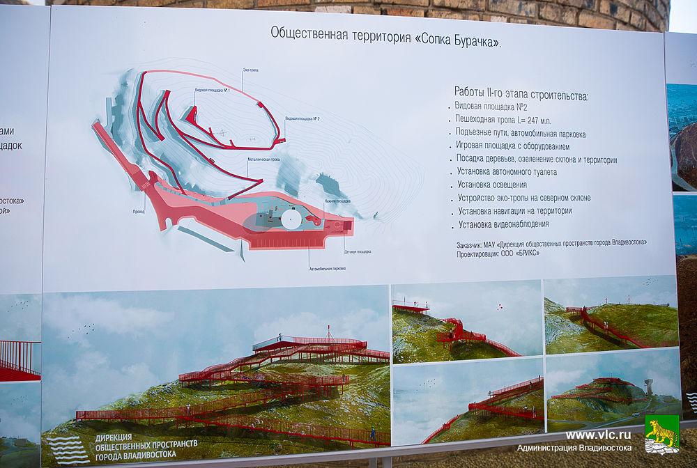 Как выглядит видовая площадка на Бурачка и лестница на Тунгусской во Владивостоке