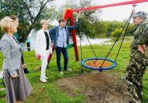 У жителей СНТ «Наука» при поддержке депутата Светланы Кузнецовой появилось место для отдыха