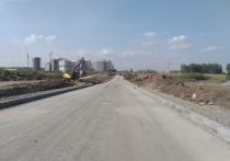 Кемеровчанам показали процесс строительства новой дороги на Верхнем Бульваре