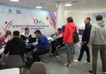 Трудящиеся из 23 регионов приехали на Всероссийскую спартакиаду в Калугу