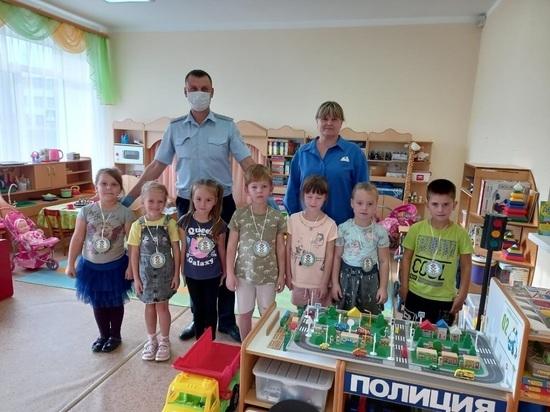 Юным жителям Серпухова напомнили о правилах безопасности