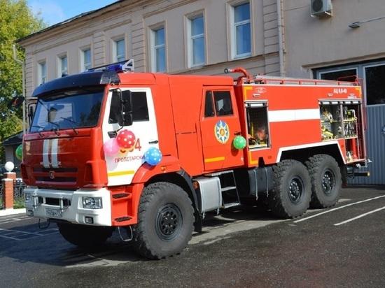 Лучших пожарных Серпухова наградили за хорошую работу