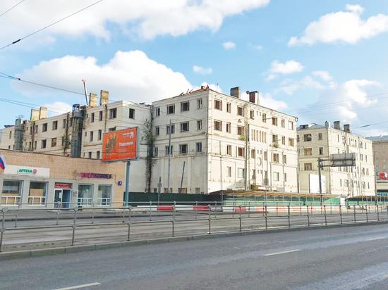 Начинается демонтаж конструктивистского квартала на Русаковской улице