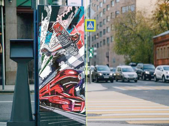 Московским художникам поручили разрисовать светофорные шкафы