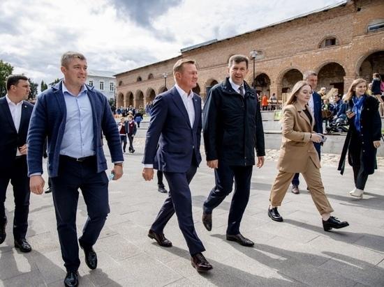Кореневский и Рыльский районы с рабочей поездкой посетил курский губернатор Старовойт