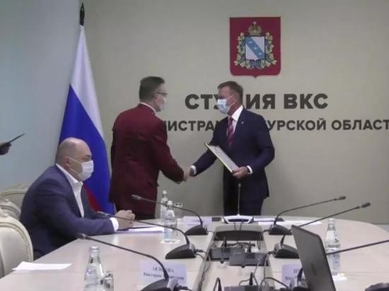 Главного санитарного врача Курской области Олега Климушина наградили почетной грамотой