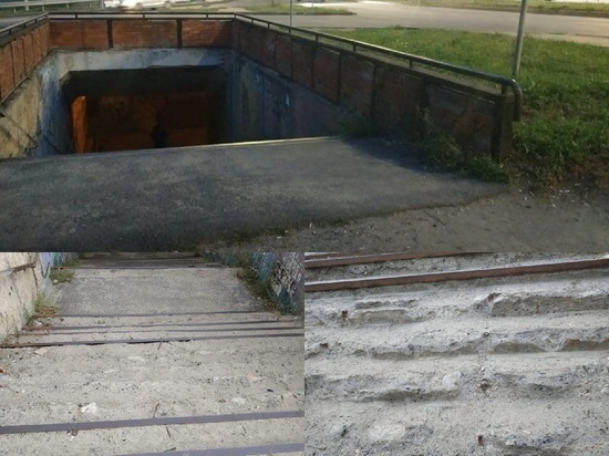 В Курске разработан проект ремонта подземного перехода на улице Сумской