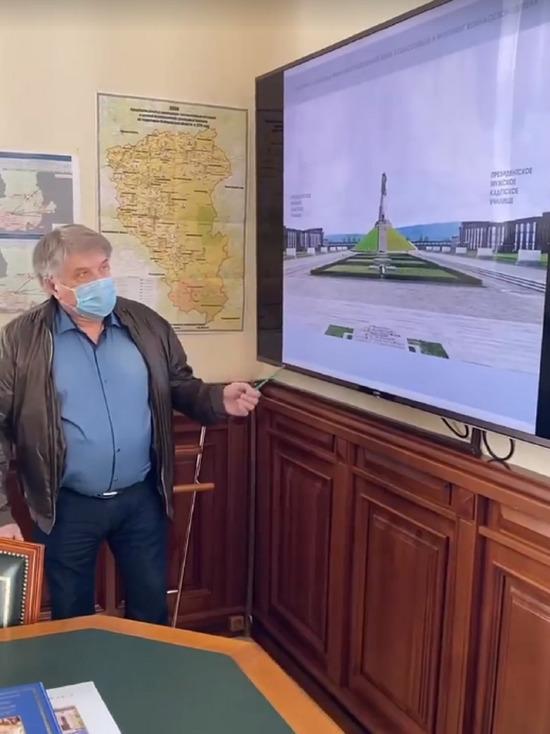 Власти Кузбасса сообщили подробности возведения монумента около президентского кадетского училища