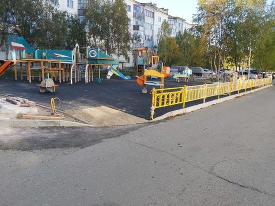 Подрядчик сорвал сроки строительства детской площадки в Надыме