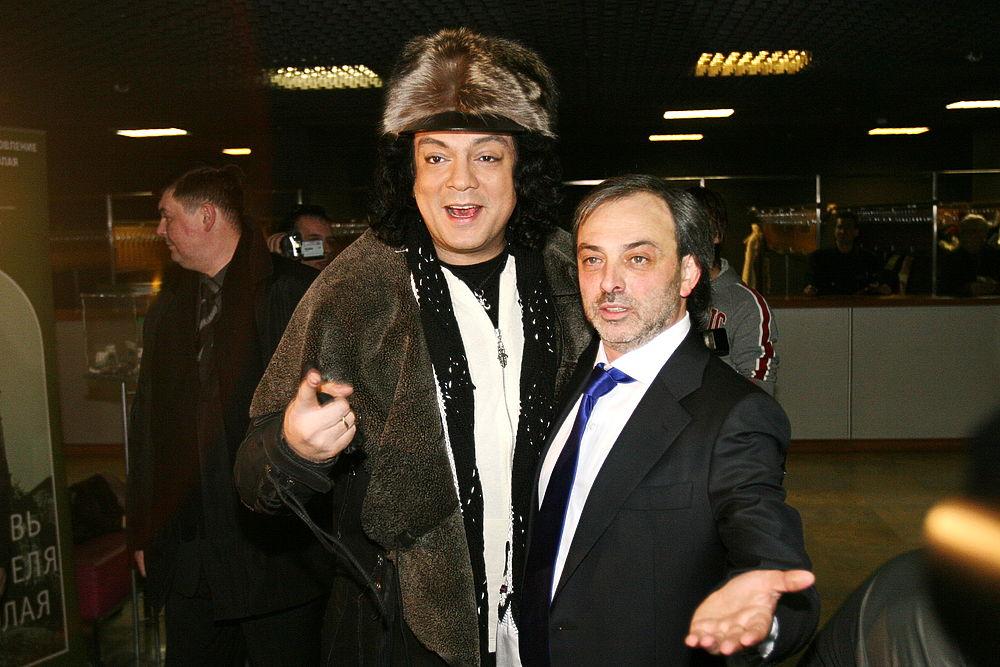 Фото Бориса Краснова со «звездами»: художник-постановщик умер после инсульта