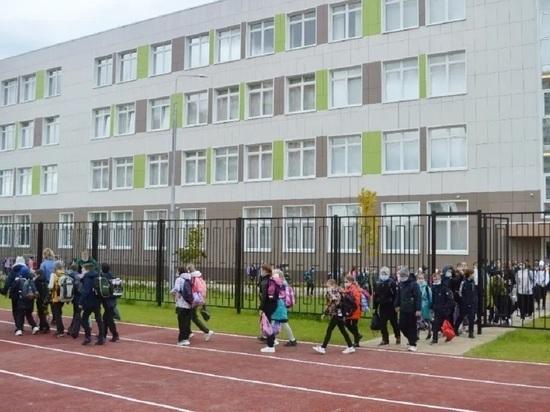 Из новой школы Серпухова эвакуировали людей