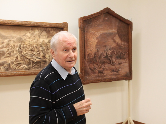 Выставка уникальных работ из дерева «Средневековый Псков» открылась в Пскове