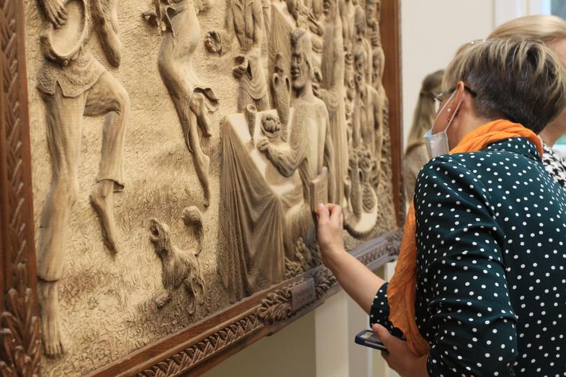 В Пскове открылась выставка уникальных работ из дерева «Средневековый Псков» , фото-3