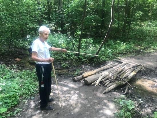 Мостик на Щелоковском хуторе построят по просьбе участника Великой Отечественной