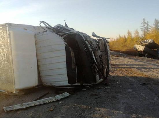 На ДТП в Вилюйском районе Якутии погиб водитель УАЗа